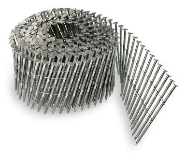 304 Stainless Steel Wire Coil Siding and Fence Nails