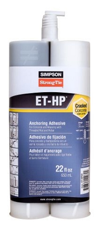 ET-HP22-N 22 oz. Fast Setting Epoxy w / nozzle