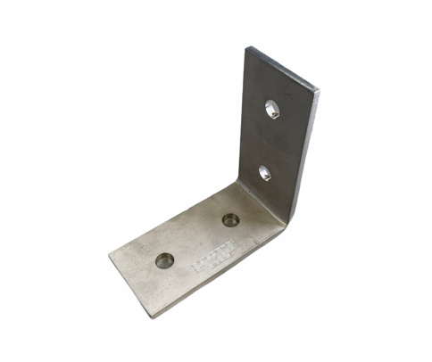 2 x 4 x 4 x 3/16 Angle Bracket 316 Stainless Steel SA244