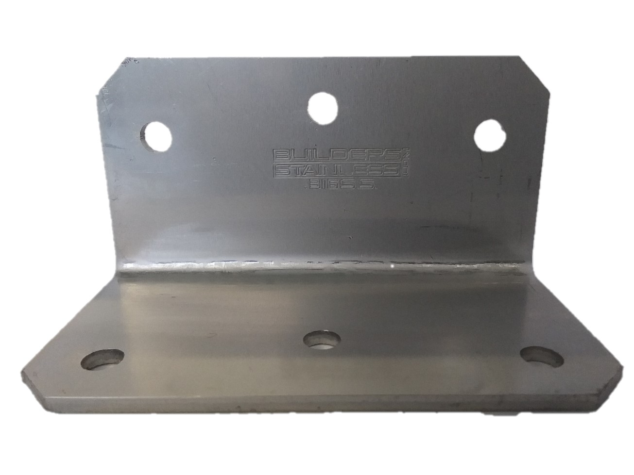 4 x 2 x 2 x 1/8 Angle Bracket 316 Stainless Steel SA422