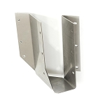 Simpson SUR26SS 2x6/8 45° Angle Joist Hanger Skewed Right - Stainless Steel