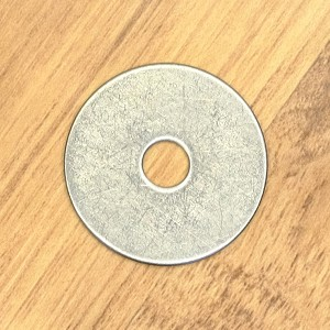 "1/4"" x 1-1/4"" OD Fender Washer, 18-8 SS"