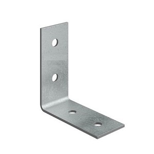 "1 1/2"" x 3 x 3/16 304 Stainless Steel Angle Bracket"