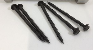 "10 x 4"" Hex Tapping Screw 410 SS Bronze"