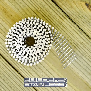 "1-3/4"" x .092"" Wire Coil Siding Nail"