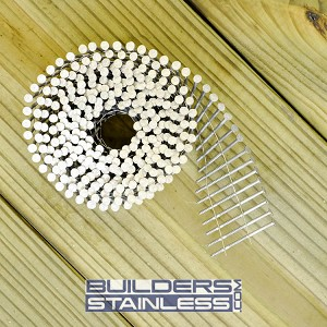 "2-1/4"" x .092"" Wire Coil Siding Nail"