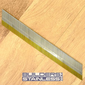 "1-1/4"" x 15 Ga S-Type Angle Finish Nail"