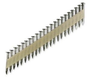 "Simpson 1 1/2"" x .148"" 33° Paper Tape RS Connector Nail 316 Stainless Steel"