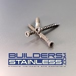 "Simpson 10 x 2 3/4"" Grey Composite Deck Screw"